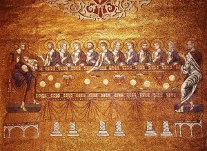 24 bis ultima cena mosaico san marco xI XII