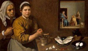 9 Cristo_nella_casa_di_Marta_e_Maria_Diego_Vélazquez_National_Gallery_London