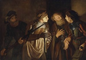 Adam_de_Coster_-_The_Denial_of_Saint_Peter rinnegamento