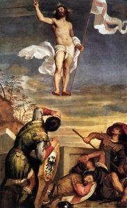 TIZIANO - RESURREZIONE 1542-1544- Palazzo ducale di Urbino