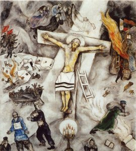 crocifissione chagall