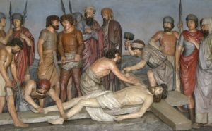 tomaso stenicocristo inchiodato sulla croce