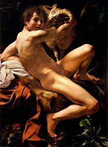 Michelangelo Merisi da Caravaggio, san giovanni battista giovane 1602