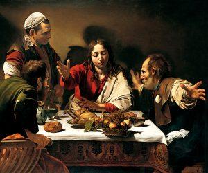 Cena-in-Emmaus-Caravaggio-Londra-