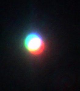 M'assomiglia assai la luna!