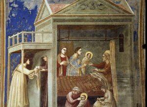 giotto-nascita-della-vergine-cappella scrovegni